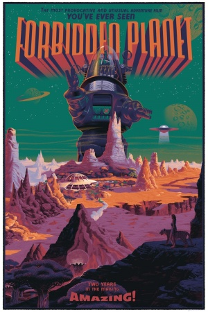 Forbidden Planet 800x1200