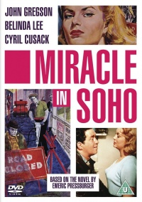 Miracle in Soho poster
