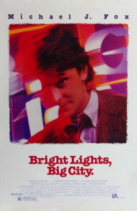 Bright Lights, Big City poster