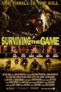 Surviving the Game poster