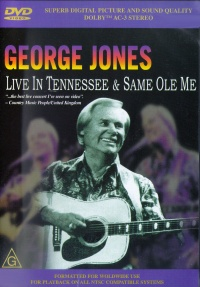 George Jones: Live in Tennessee poster