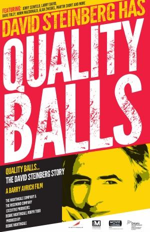 Quality Balls: The David Steinberg Story 1800x2782