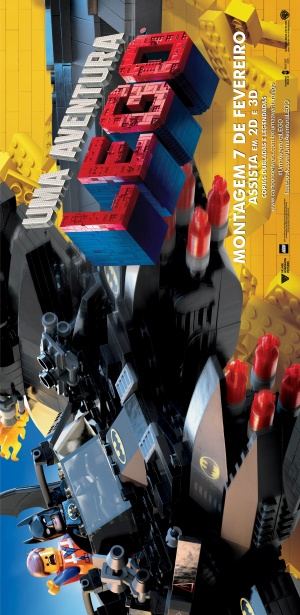 The Lego Movie 2332x4783