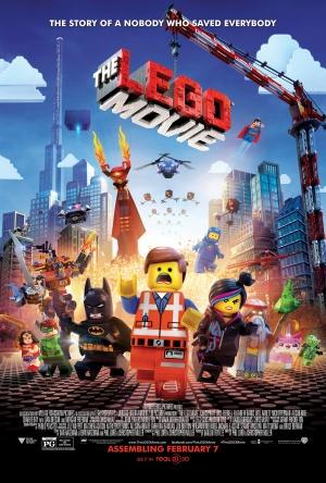 The Lego Movie 3375x5000