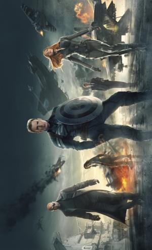 Captain America: The Winter Soldier 3052x5000