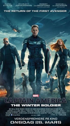 Captain America: The Winter Soldier 1080x1920
