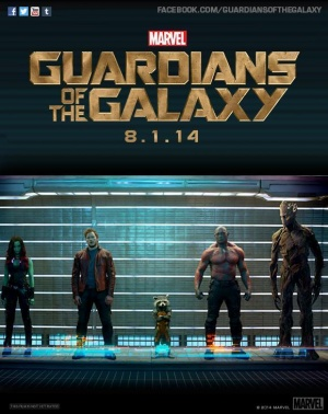 Guardians of the Galaxy 580x731
