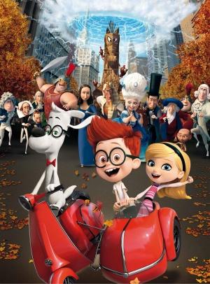 Mr. Peabody & Sherman 3698x5000