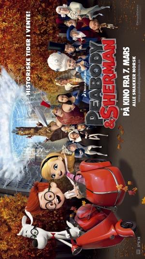 Mr. Peabody & Sherman 1080x1920