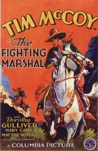The Fighting Marshal poster