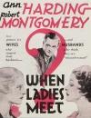 When Ladies Meet poster