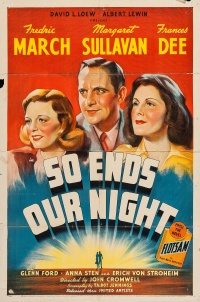 So Ends Our Night poster