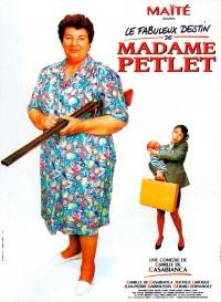 Le fabuleux destin de Madame Petlet poster