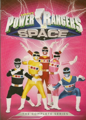 Power Rangers in Space 500x700