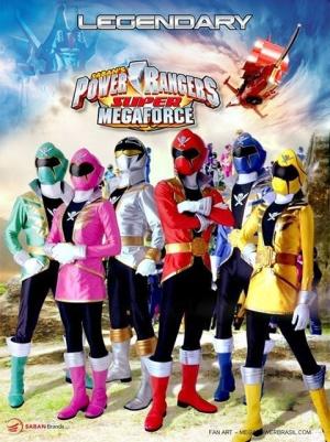 Power Rangers Megaforce 480x642
