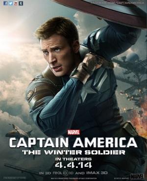Captain America: The Winter Soldier 580x716