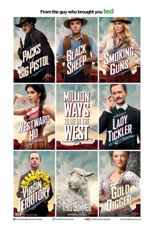 A Million Ways to Die in the West 3428x5000