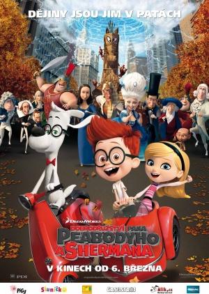 Mr. Peabody & Sherman 3558x5000
