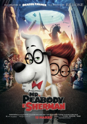 Mr. Peabody & Sherman 3500x5000