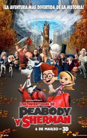 Mr. Peabody & Sherman 901x1417