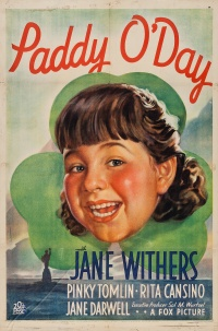 Paddy O'Day poster