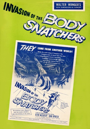 Invasion of the Body Snatchers 1798x2580