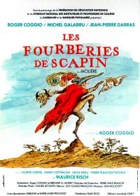 Les fourberies de Scapin poster