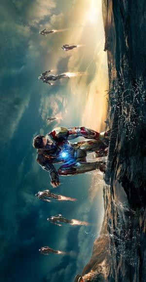 Iron Man Three 2600x5000
