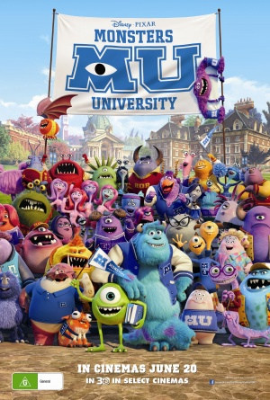 Monsters University 2373x3520