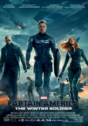 Captain America: The Winter Soldier 1122x1600