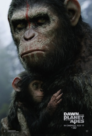 Dawn of the Planet of the Apes 3375x5000