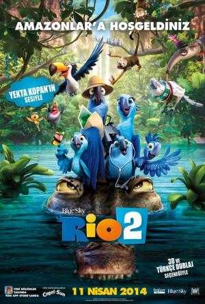 Rio 2 - Dschungelfieber 591x874