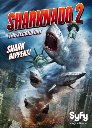 Sharknado 2: The Second One 2156x3000