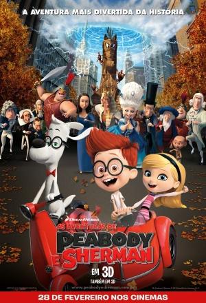 Mr. Peabody & Sherman 1008x1480
