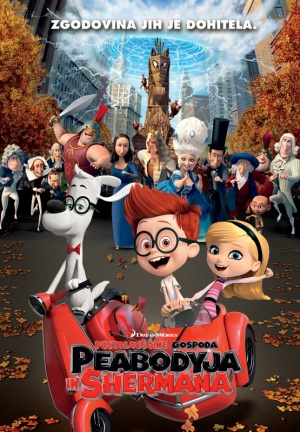 Mr. Peabody & Sherman 555x800