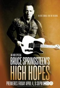 Bruce Springsteen's High Hopes poster