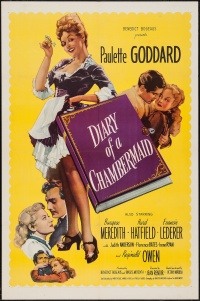 The Diary of a Chambermaid poster