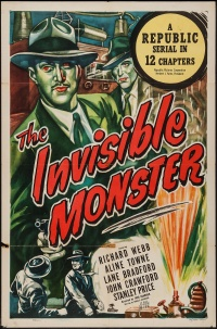 The Invisible Monster poster