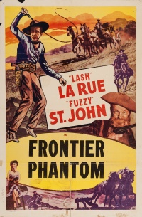 The Frontier Phantom poster
