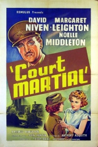 Court Martial poster