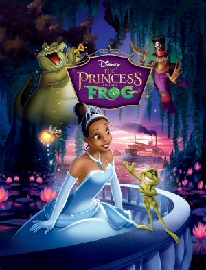 The Princess and the Frog 2533x3327