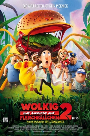 Cloudy with a Chance of Meatballs 2 1000x1500
