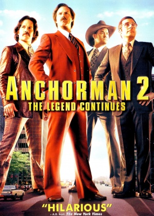 Anchorman 2: The Legend Continues 1537x2163