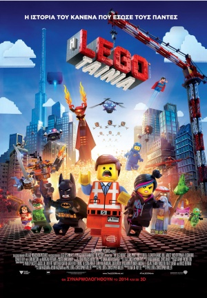 The Lego Movie 1181x1702
