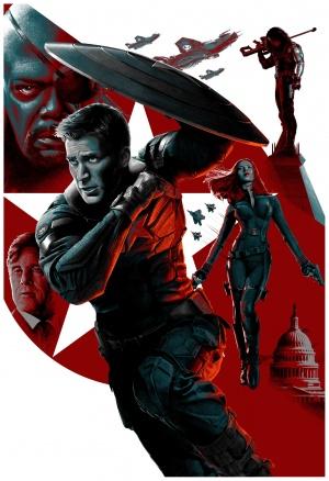 Captain America: The Winter Soldier 3422x5000