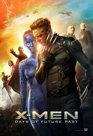 X-Men: Days of Future Past 1207x1757