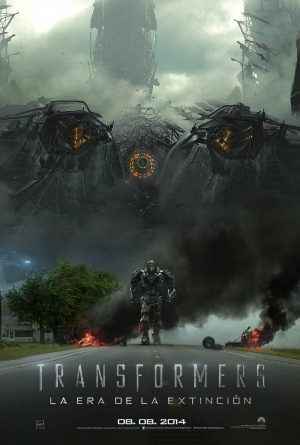 Transformers: La era de la extinción 1000x1482