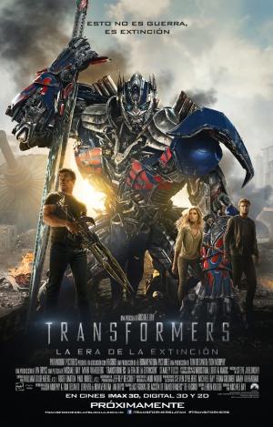 Transformers: La era de la extinción 640x1000