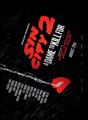 Sin City: A Dame to Kill For 2200x3000