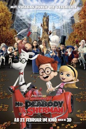 Mr. Peabody & Sherman 1772x2658